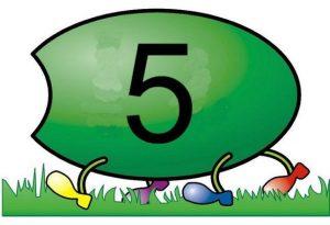 caterpillar number  cards (6)