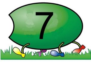 caterpillar number  cards (8)