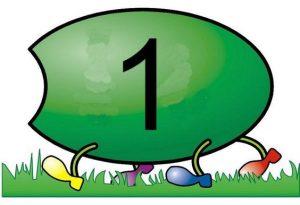 caterpillar number  cards (9)