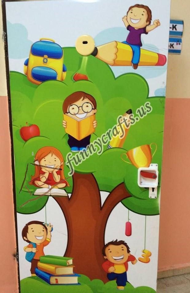 Door decorations for first grade 9 preschool and for Back to school door decoration