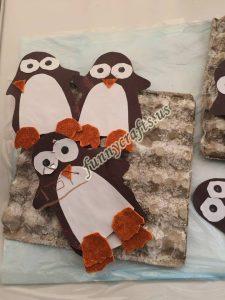 egg cartoon penguin crafts (1)