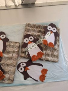 egg cartoon penguin crafts (3)