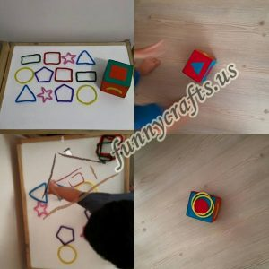 ideas for teaching shapes to kids