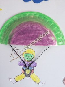 paper plate parachute craft for preschoolers (9)