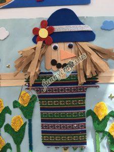 pop sticks scarecrow craft (3)