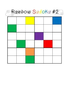 rainbow sudoku for kids (2)
