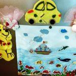 Homemade aquarium for toddlers