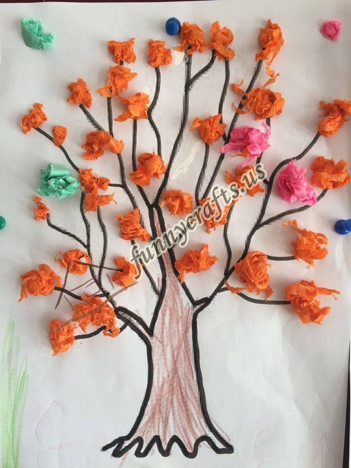 Spring Tree Craft Funny Crafts