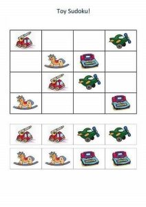 toy sudoku for kids