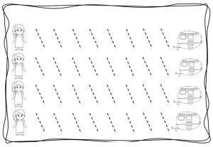 tracing diagonal lines free sheet (8)