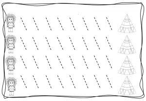 tracing diagonal lines free sheet (9)