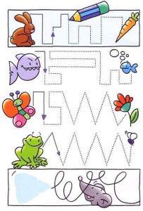 animals  fun tracing activities