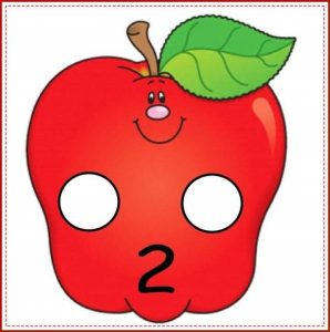 apple number cards (2)