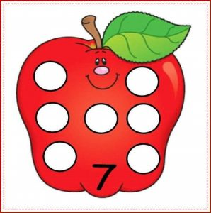 apple number cards (7)