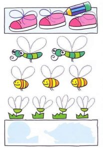 bee  fun tracing activities