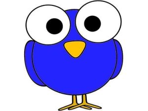 blue owl free printable