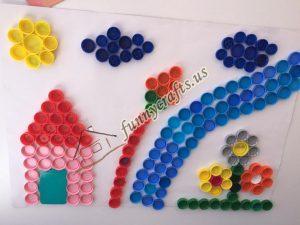 bottle cap crafts for preschool (3)