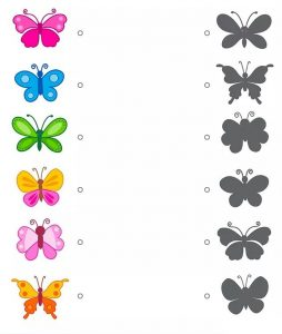 butterfly shadow matching sheets (1)