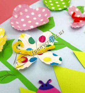 cupcake spring flower liner crafts (7)