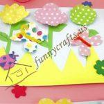 Cupcake flowers craft