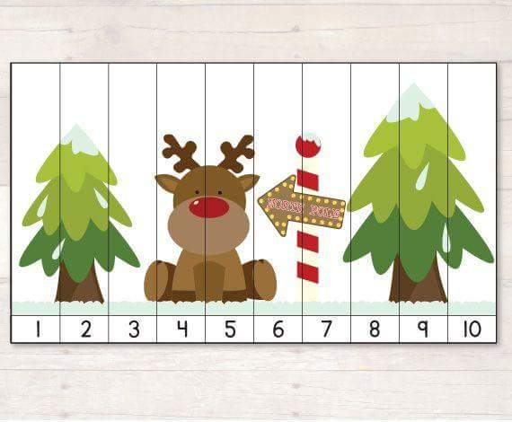 deer number sequence puzzles