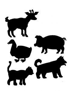 farm animals shadow matching (2)