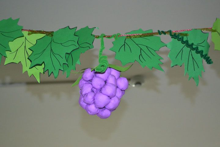 Classroom Website Ideas ~ Grape craft ideas « funnycrafts