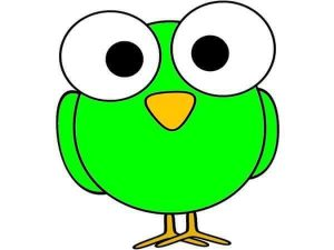 green owl free printable (1)