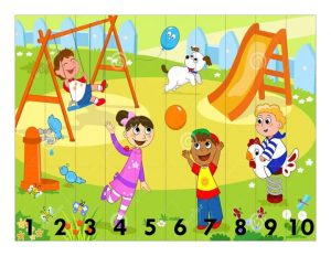 park and play puzzle