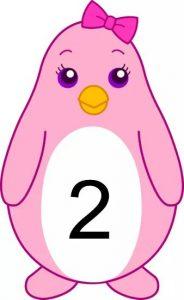 penguin number cards (2)