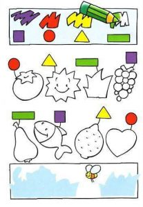 shapes  fun tracing activities