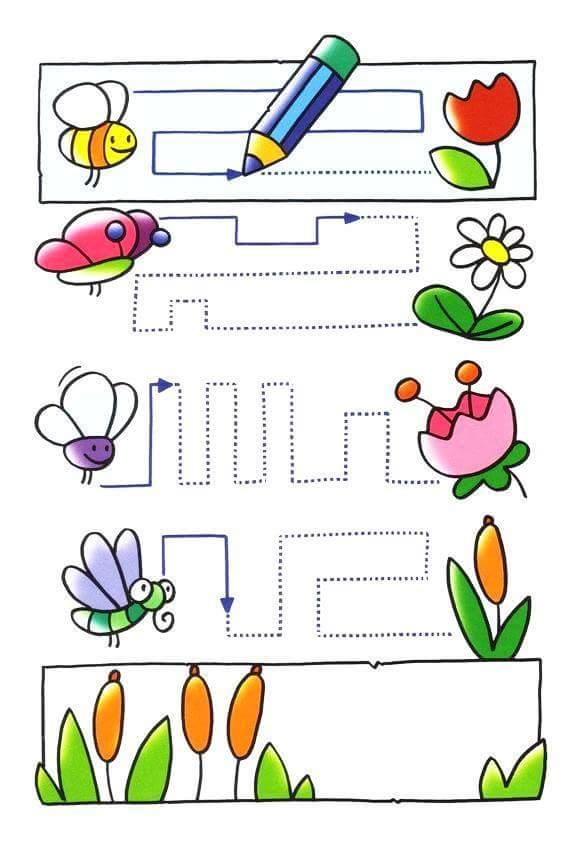 Related Posts Spring Printables For Kıdsspring Activities: Spring Fun Tracing Activities « Preschool And Homeschool