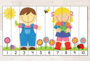 spring  number sequence puzzles