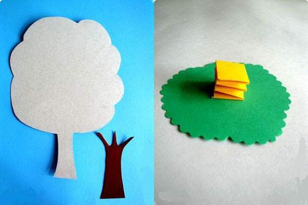 tree craft with paper (2)