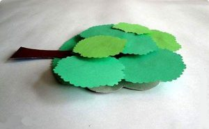 tree craft with paper (5)