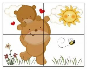 4 pieces jigsaw puzzles for children (2)