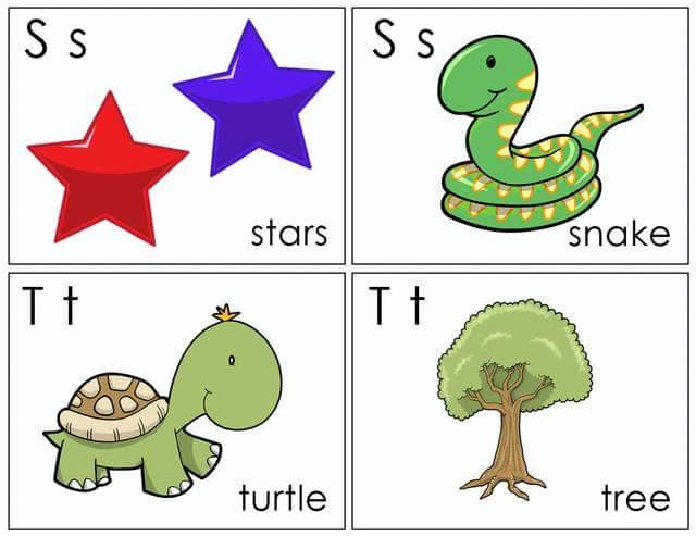 Alphabet Flash Cards Free Printable (10) « Preschool And
