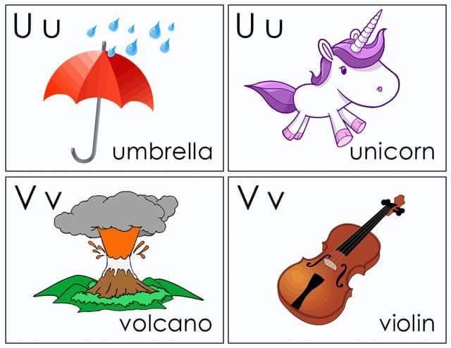 Alphabet flash cards free printable (11) « Preschool and