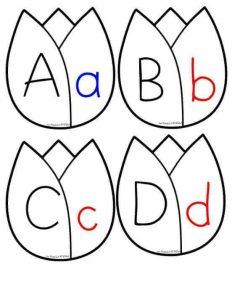 Alphabet tulip cards for kids (1)