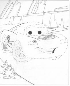 Light mcqueen coloring pages (1)