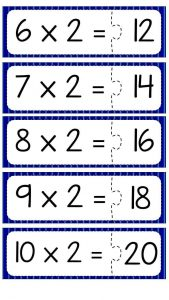 Multiplication puzzle for school (2)