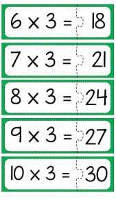 Multiplication puzzle for school (4)