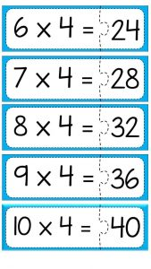 Multiplication puzzle for school (6)