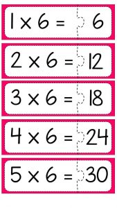 Multiplication puzzle for school (9)