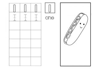 Number writing free sheets (1)