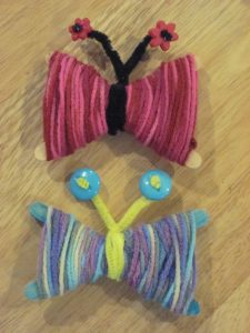 Yarn Butterflies 028