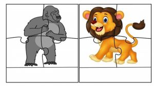 animals puzzle for kids,free printable puzzles for kids