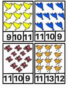 bird counting sheets