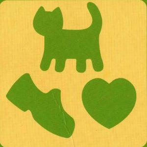 cat heart shadow matching