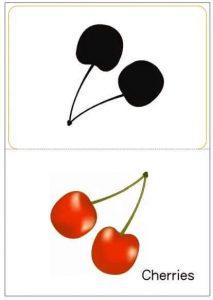cherries shadow matching